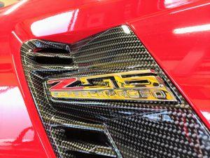 コルベット Z06 サイドエンブレム