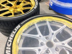タイヤレター キズ 汚れ 保護