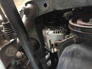 ムーブ オルタネーター交換 L152S