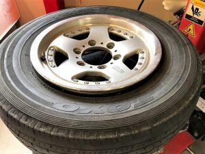タイヤ交換15インチはめ替え
