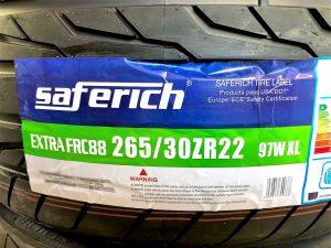 ダッチマグナムタイヤ交換265/30R22インチサーフェリッチ