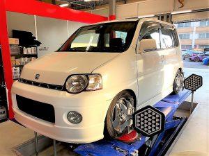 国産車ホンダS-MXアライメント調整
